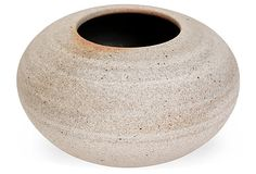 Humble Ceramics Moon Vase, Cream on OneKingsLane.com