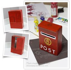 Mailbox handmade