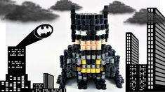 BATMAN- HAMA BEADS ( hecho por mi novio XD)