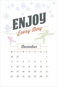 Make Everyday Special | Free Calendar 2013 Printable Files