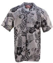 Honu Hibiscus Mens Hawaiian Aloha Shirt in Charcoal, Mens Hawaiian Shirts Clothing, Paradise Clothing, Mens Hawaiian Shirts, Aloha Shirt, Clothing Co, Hibiscus, Shirt Outfit, Charcoal, Men Casual, Oc