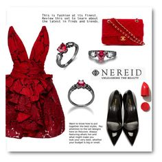 """""""NEREID"""" by elly-852 ❤ liked on Polyvore featuring Marchesa, Yves Saint Laurent, Chanel, NARS Cosmetics and nereid"""
