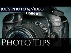 Canon EOS 80D: How To Set Camera Focus Points & AF Modes   Photography Tips - YouTube