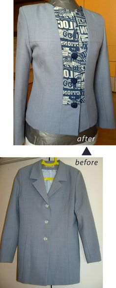 women's jacket refashion bet a mens coat could do this