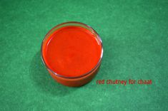 Red Chutney for Chaat Red Chutney Recipe, Chutney Recipes, Taste Sense, Grandma Pie, Garlic Chutney, How To Make Red, Chaat Recipe, Green Chutney, Red Chili Powder