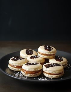 Macarons with Salted Caramel Buttercream