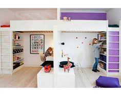 Une chambre pour deux enfants : les meilleures idées pour leur créer chacun un espace !