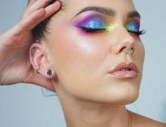 Wearable pride makeup