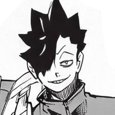 Kuroo Haikyuu, Manga Haikyuu, Kuroo Tetsurou, Haikyuu Characters, Anime Characters, Sword Art Online, Haikyuu Wallpaper, Kuroken, Manga Covers