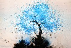 Paint Spatter Tree <3