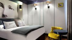 """A 4 star brand new boutique hotel between Opera and Montmartre area.  Les Plumes ... ....""""Wings"""""""