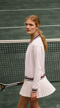 Issue: Introducing Tory Sport is finally here! Read all about the new performance activewear line. is finally here! Read all about the new performance activewear line. Tennis Outfits, Tennis Skirts, Tennis Dress, Tennis Clothes, Sport Outfits, Athleisure Trend, Tennis Fashion, Sport Fashion, Indie Outfits