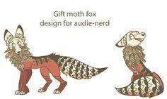 Moth Fox For Audie-nerd by MeritFerret