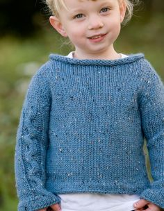 Racing Stripes Child Sweater - Knitting Patterns and Crochet Patterns from KnitPicks.com