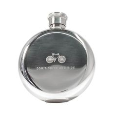 IZOLA DON'T DRINK AND RIDE 3 OZ FLASK