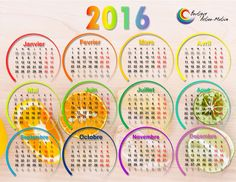 Calendrier 2016 format horizontal aimanté Marie, Words, Calendar For 2016, Positive Thoughts, Posters, Horse