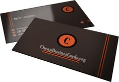 Get great deals on cheap and affordable business cards here!