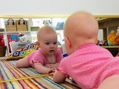 Mirror mirror on the wall who's the fairest baby of them all...