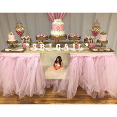 tutu themed baby shower