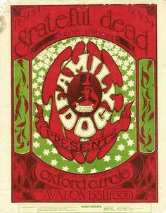 Grateful Dead, November 3-4, 1966 @ Avalon Ballroom, San Francisco