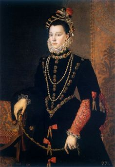 Isabel de Valois (1562), de Sofonisba Anguissola (pintora renacentista)
