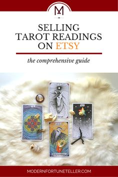 Etsy is the new hotspot to sell tarot readings for those who want to start up their own tarot business online without needing a website just yet. Click here for the comprehensive guide to starting your tarot business on Etsy!