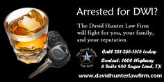 Arrested for DWI? We can help you