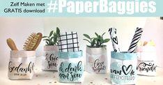 Jij bent op zoek naar mijn paperbaggies! ik heb er inmiddels al een heleboel meer gemaakt voor jou. En je kunt ze straks al download... Brother Birthday Quotes, Thanking Someone, Paper Crafts, Diy Crafts, Tombow, Party Gifts, Diy For Kids, Teacher Gifts, Projects To Try