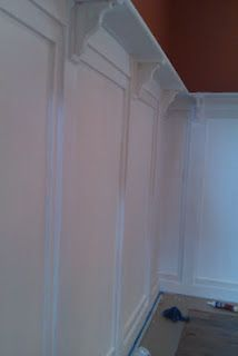 Custom made wainscot by Integrity Finishes of Tampa Bay  727-542-2946