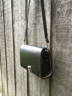 leather satchel or messenger bag by Marcshandycraft on Etsy