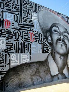 el Mac & Retna, The Knight (2009) Chesapeake at Jefferson Blvd., Los Angeles