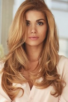 coppery blonde hair color - best hair color for summer Check more at http://www.fitnursetaylor.com/coppery-blonde-hair-color-best-hair-color-for-summer/