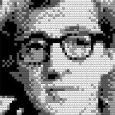 Woody Allen on Legos
