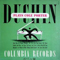 Duchin Plays Cole Porter – album cover by Alex Steinweiss