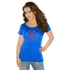 G3 by Alyssa Milano Chicago Cubs Bright Lights Tee - Women