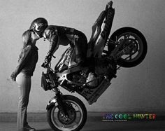 odio las motos pero tienen su lado romantico