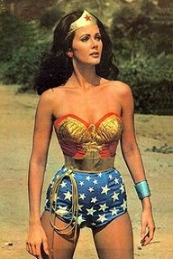 Lynda Carter as Wonder Woman!