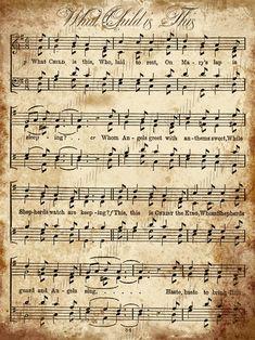 Christmas Music Sheets Printable