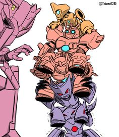Chop Shop and Minicons. Transformers Memes, Transformers Optimus Prime, Monster Art, Kawaii Drawings, Tmnt, Fan Art, Cartoon, Artwork, Bounty Hunter