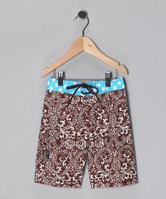 Love these little swim trunks!