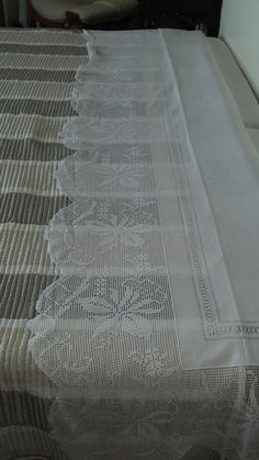 Counted Cross Stitch Patterns, Lace Trim, Dish Towels, Layette, Dots, Imagination, Lace Overlay
