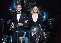 Sophie Turner and George MacKay at the BAFTA Awards