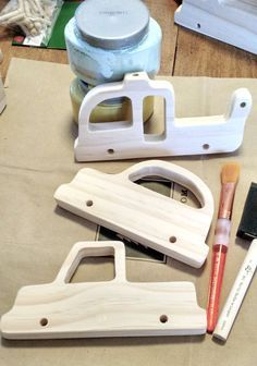The Project Lady: DIY Wooden Toy Vehicles - Car, Truck & Helicopter