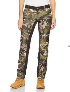 f553bd95b7af4 $90 Under Armour Womens Sz 8 UA Early Season Field Hunting Pants Reaper Camo  #Underarmour
