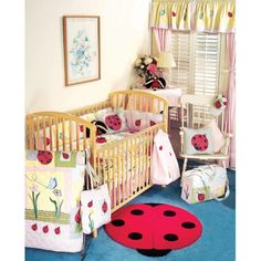 12 Gorgeous Ladybug Crib Bedding Sets Picture Inspirations
