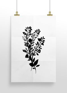 Botanical Print by Cocorrina - Free Printable Wall Art Roundup