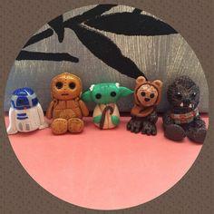 Star Wars Stuffie Set by RavensNestCrafts on Etsy, $20.00