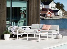 FINN – Praktisk sofagruppe med aluminium med flere bruksområder