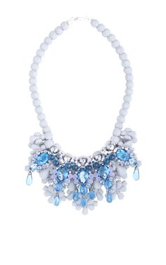 En Avant silicone and glass beads necklace by Ek Thongprasert