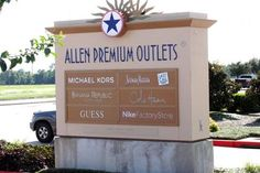 Allen- Allen Premium Outlet Mall- more than 100 outlet stores. Gap Outlet, Outlet Store, Allen Texas, Premium Outlets, Last Call, True Religion, Juicy Couture, Cole Haan, Polo Ralph